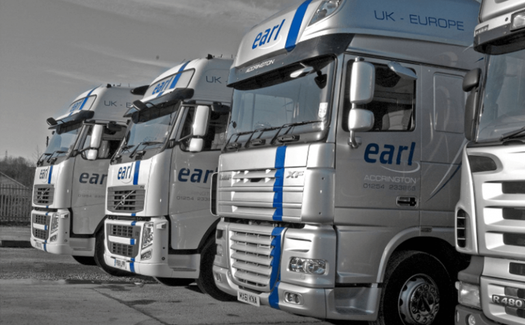 Earl Transport is taking advantage of Frotcom to manage its fleet