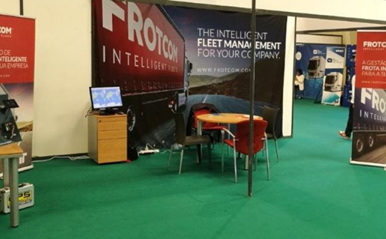 Frotcom at the II National Transport Industry Trade Show   Frotcom Lusitana