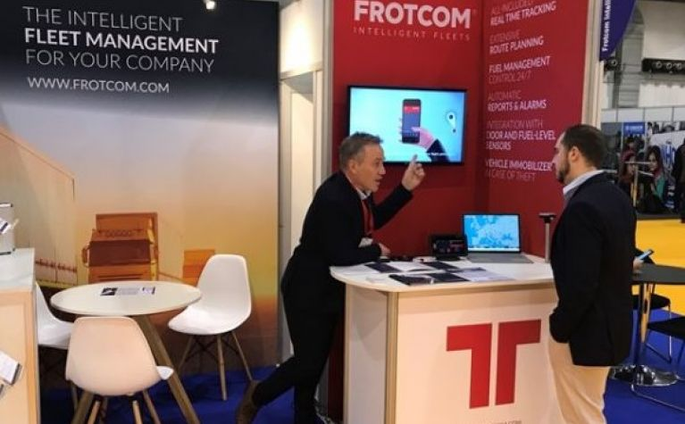 Frotcom attends the renowned AidEx Brussels