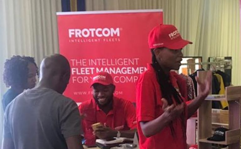 Frotcom exhibited at Bible Life Business Expo in Botswana