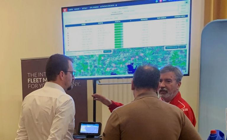 Frotcom exhibits fleet management system at Gala Tranzit 2018
