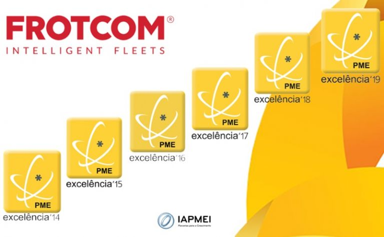Frotcom International achieves SME Excellence status for the 6th year running