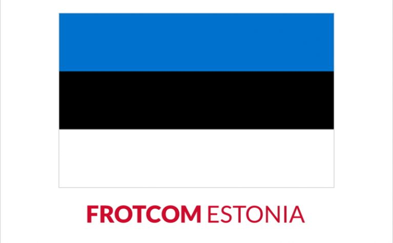 Frotcom is thrilled to announce the appointment of a new certified partner from Estonia - Frotcom
