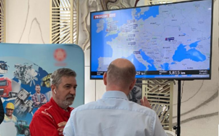 Frotcom showcases its fleet management system at the Tranzit East Conference