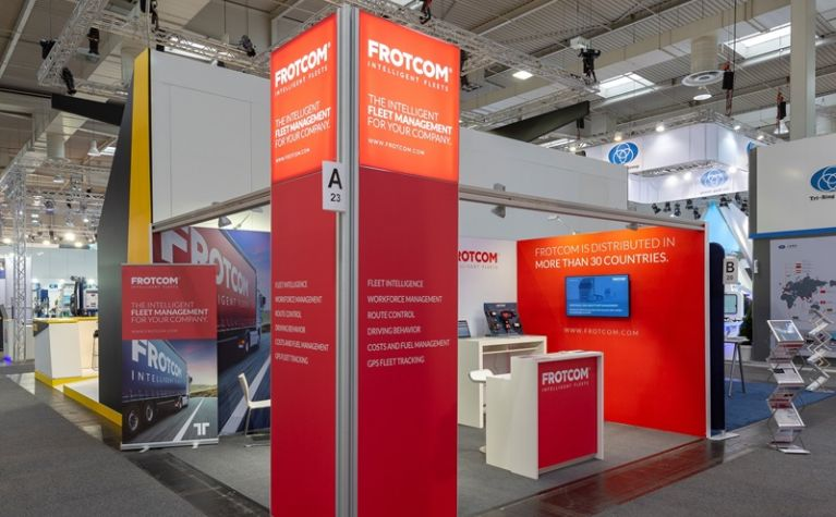 Frotcom booth at IAA Commercial Vehicles 2018