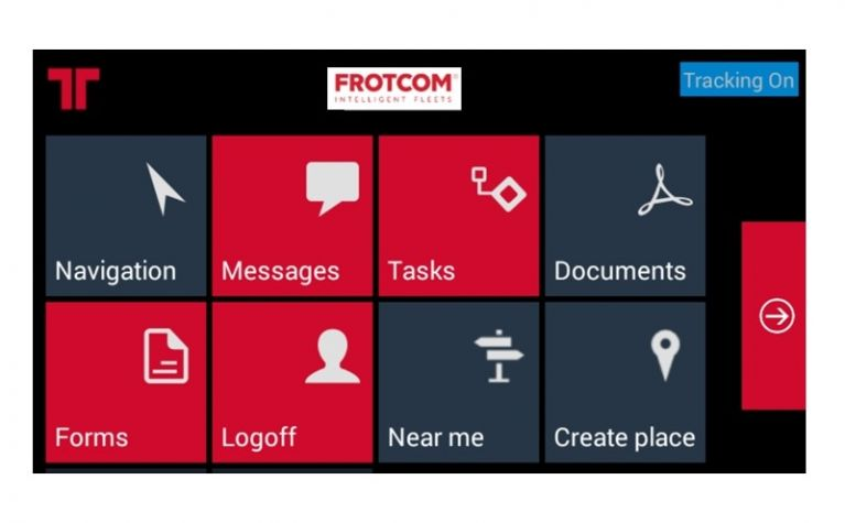 Frotcom WFM terminals can be used to track the whereabouts of your vehicles