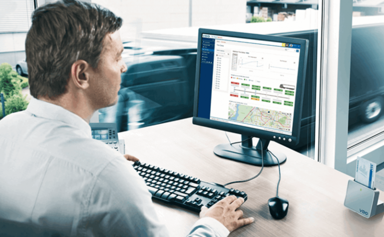 Frotcom's partnership with Continental is facilitating tachograph data management - Frotcom
