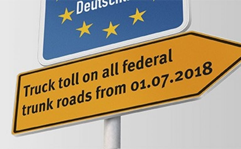 Truck tolls on federal roads extended (Germany)