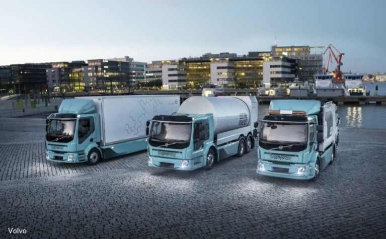 Major truck manufacturers join forces to build an electric charging network in Europe  - Frotcom