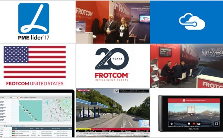 Plenty of special reasons to celebrate with the Frotcom team
