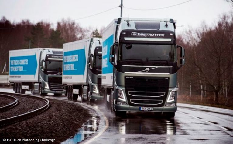 Road transportation - More sustainable and more digital-Part I-Platooning